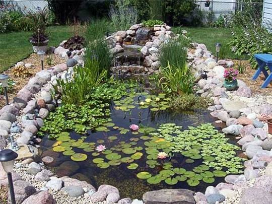 Fountains For Backyard Ponds : Backyard Inspiration Ponds and Fountains