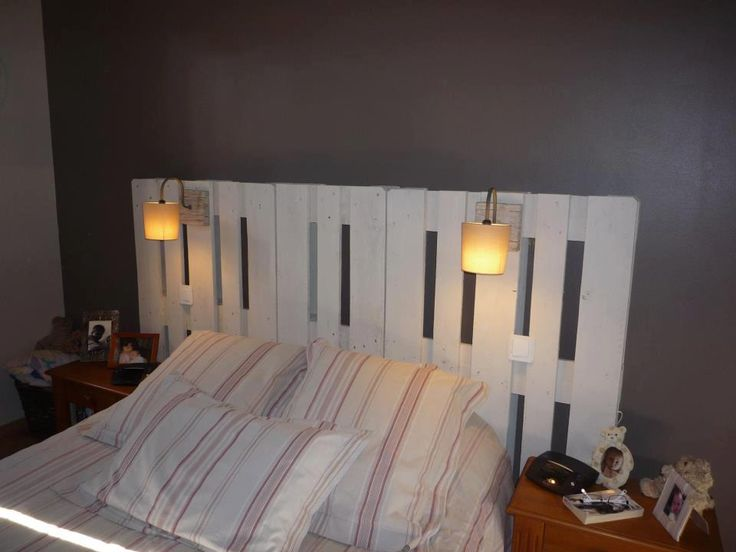 doppelbett aus europaletten clever ideas diy upcycling. Black Bedroom Furniture Sets. Home Design Ideas
