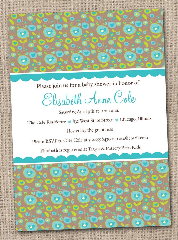 Pinterest Babyshower Invitations Home Design Ideas