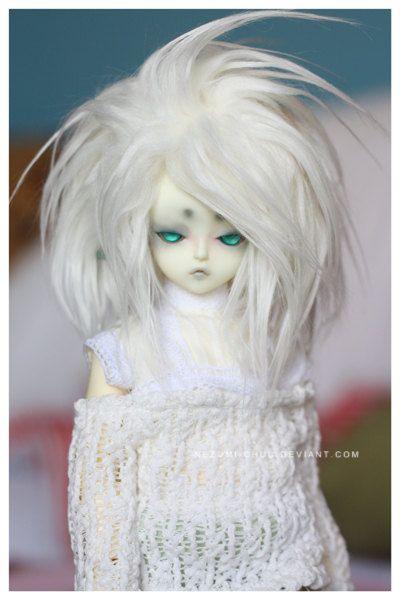 Yosd White Wig 19