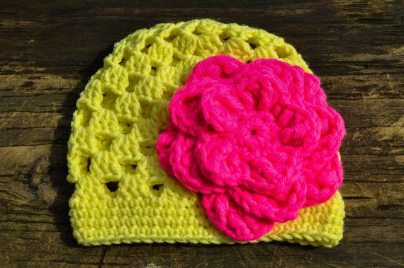 Crochet Stitch Open : Baby Trillium Beanie Open Stitch Crochet Hat by courtneyannabanana, $ ...