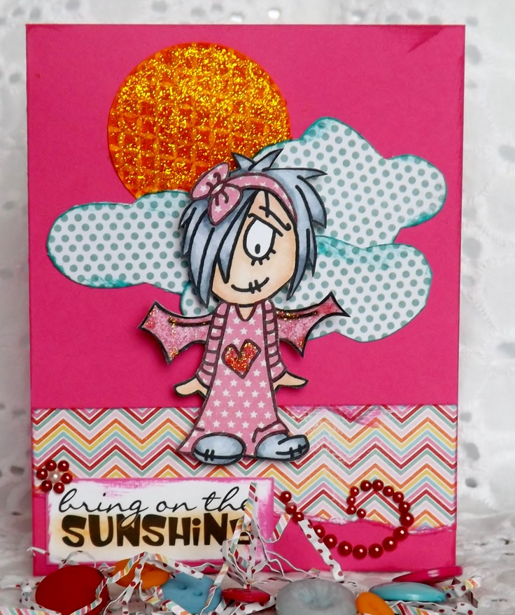 Bring on the Sunshine | Homemade Cards made by Deanne Clarke-Saunders ...