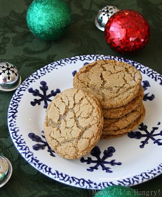 Soft Molasses Cookies: Recipe Blog: Cookies and Bars