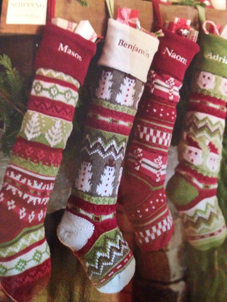 christmas stockings pottery barn christmas stockings. Black Bedroom Furniture Sets. Home Design Ideas