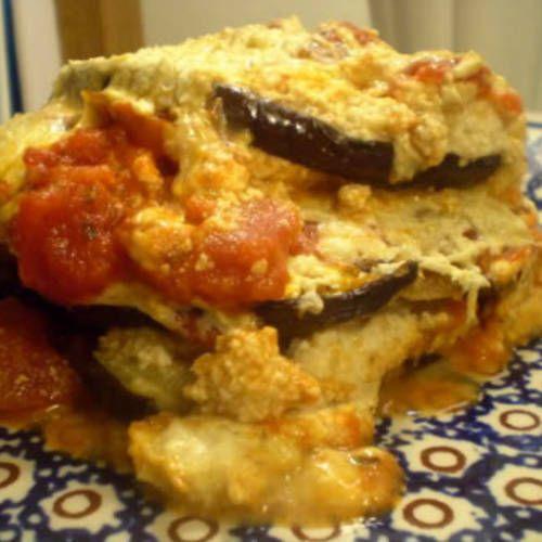 Sammi Mclean's Eggplant Parmesan