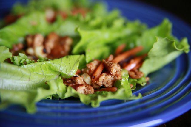 Vegetarian Lettuce Wraps | Food. | Pinterest