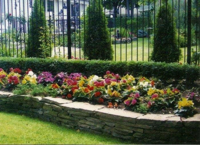 Raised flower beds for the yard or garage pinterest for Flowers for flower beds