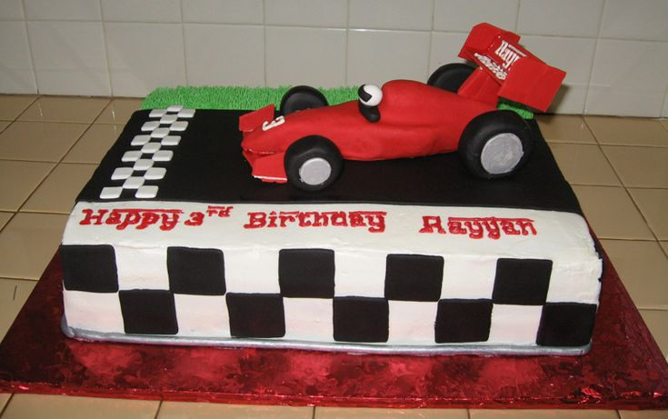 Cake Decorations Racing Cars : Indy Car Birthday Cake Birthday Party Ideas Pinterest