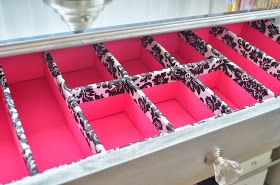 Pink So Foxy: DIY Drawer Organizers