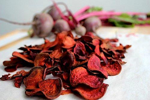 Beet Chips | vegan starters & sides | Pinterest