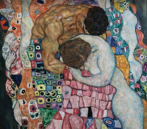 gustav klimts death and life Learn about 19th century austrian artist gustav klimt, most famous for painting the kiss the work was completed in 1910, and the following year his painting death and life received first prize at an international exhibition in rome klimt considered the award among his greatest achievements.