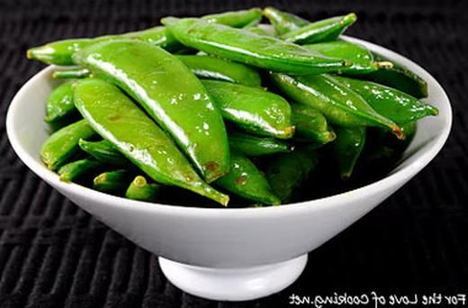 Soy Sesame Sugar Snap Peas | Recipes | Pinterest