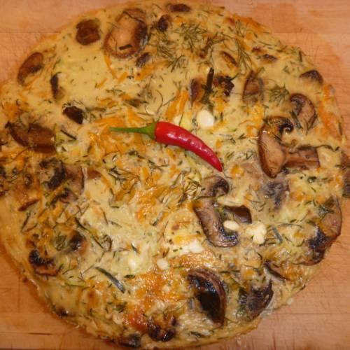 Zucchini Mushroom Savoury Cheesecake | Dinner! | Pinterest