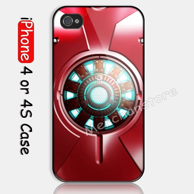 Iron Man 3 Body Armor Custom iPhone 4 or 4S Case Cover