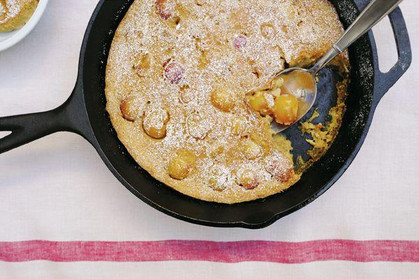 Cherry-Almond Clafoutis