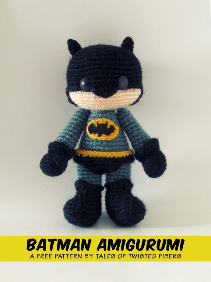 Batman Amigurumi Crochet Pattern Free : BATMAN AMIGURUMI FREE PATTERN Amigurumi Pinterest