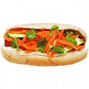 Low Cal Banh Mi Hot Dog Recipe Recipe - my family's favorite way to ...