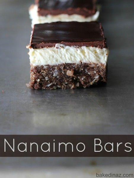 Nanaimo Bars   Canadian Food   Pinterest