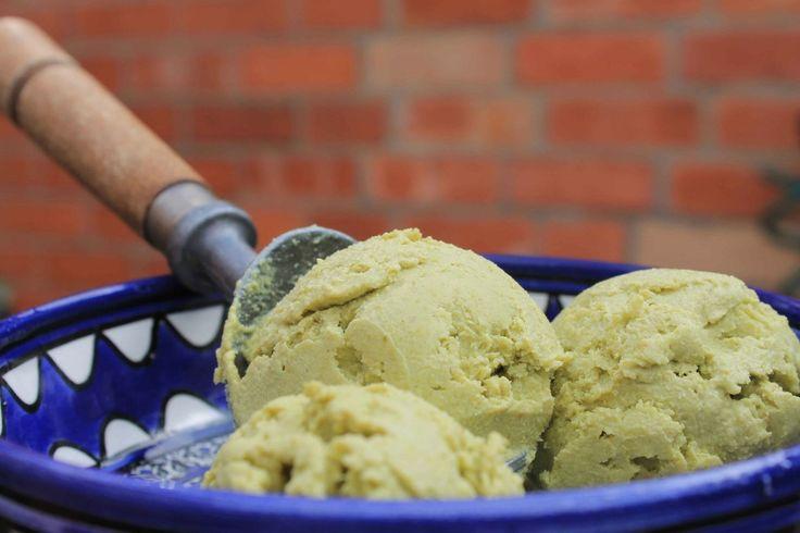 Avocado and Pistachio 'Ice Cream'   Recipe