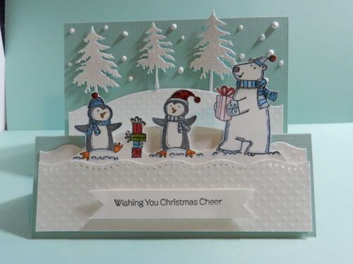 Stampin up wishing you christmas cheer card ideas pinterest