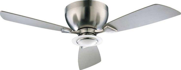 Quorum Nikko 44-inch Satin Nickel Hugger Ceiling Fan