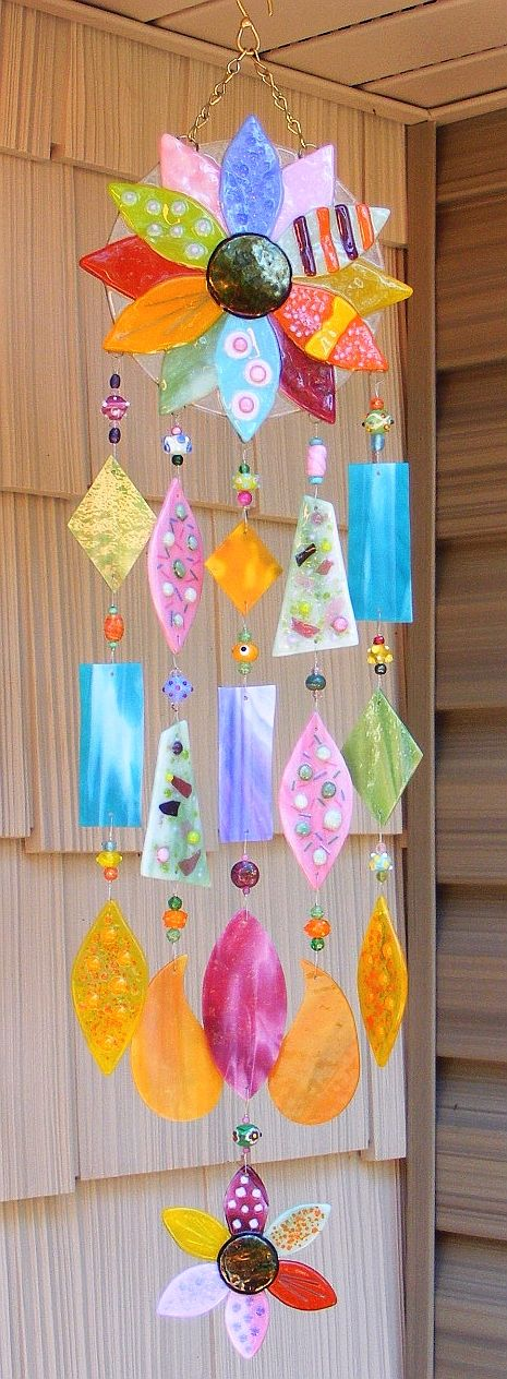 Wind chime craft ideas pinterest for Wind chime craft projects
