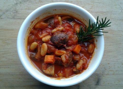 ... Heart Recipes | Sunday Night Dinner: White Bean and Mushroom Stew