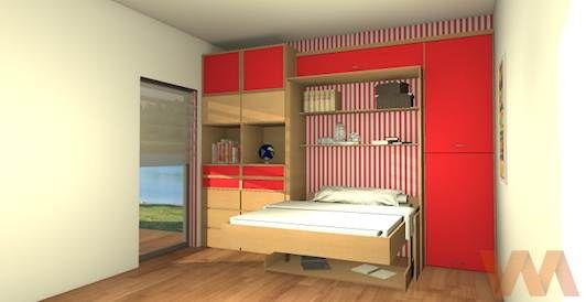 Cama Escondida  Ideas y Muebles Bogota  Ideas para apartamento pequ
