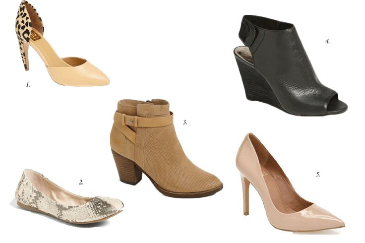 Nordstrom Clearance Sale shoes.