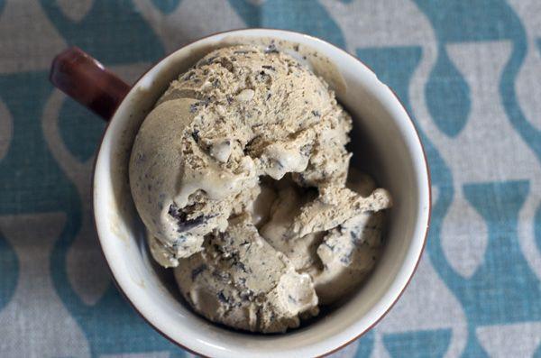 Coffee Chocolate Chip Ice Cream Recipe — bitter, sweet & energizing.