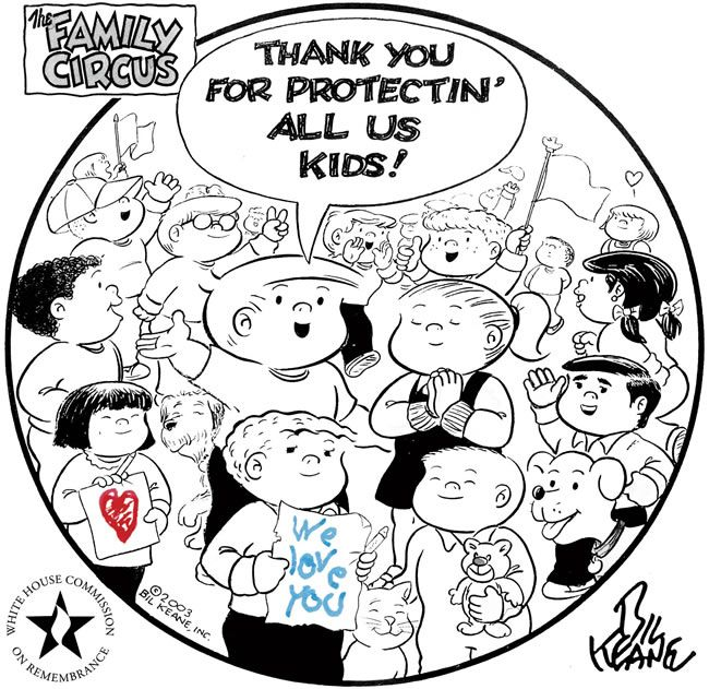 Thank You Military Coloring Pages