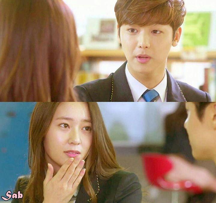 krystal and kang minhyuk dating sim