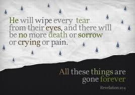 No more death or sorrow