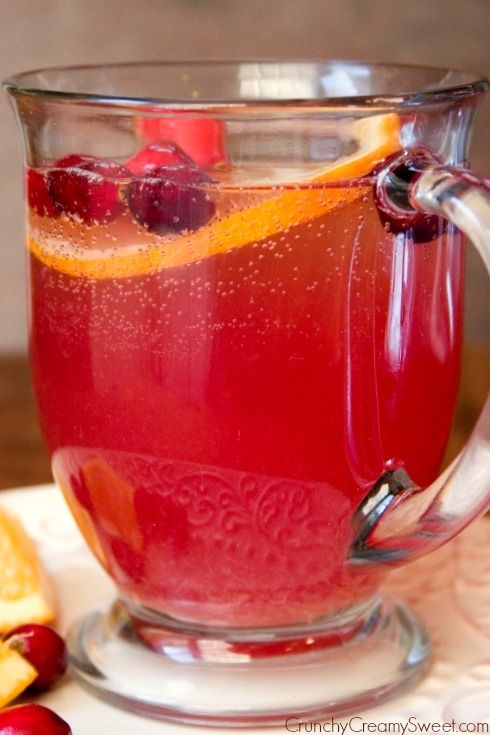 Orange Cranberry Spritzer | Recipe