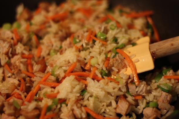 Easy pork fried rice | food | Pinterest