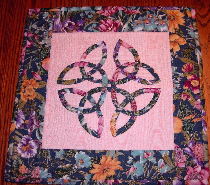 Quilting Pattern Lovers Knot : true lover s knot quilt - Google Search Celtic Quilting Pinterest