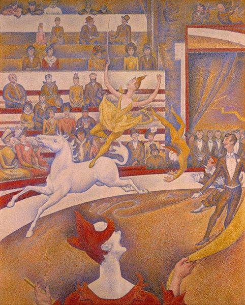 georges seurat the circus - photo #3