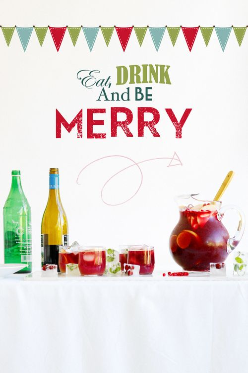 Holiday Sangria | We ate well and cheaply and drank well and cheaply ...