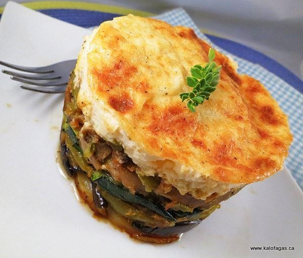 Vegetable moussaka | g r e e k . f o o d | Pinterest