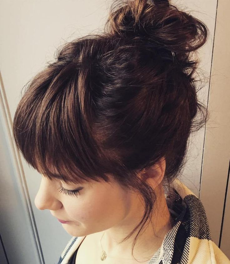 Party Hair Inspiration: 10 Gorgeous Messy Updos FromPinterest pics