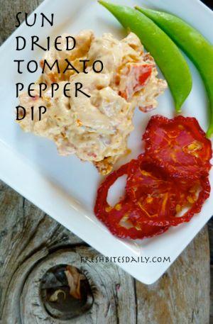 Sun dried Tomato/Cream Cheese Dip | Food, Glorious Food! Savory | Pin ...