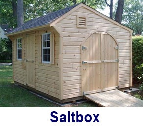 Saltbox Shed Landscape Pinterest