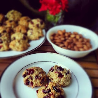 Almond-Cranberry Quinoa Cookies | Healthy Foods | Pinterest