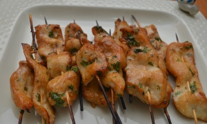 Chicken Satay With Spicy Peanut Sauce | Favorite Recipes | Pinterest