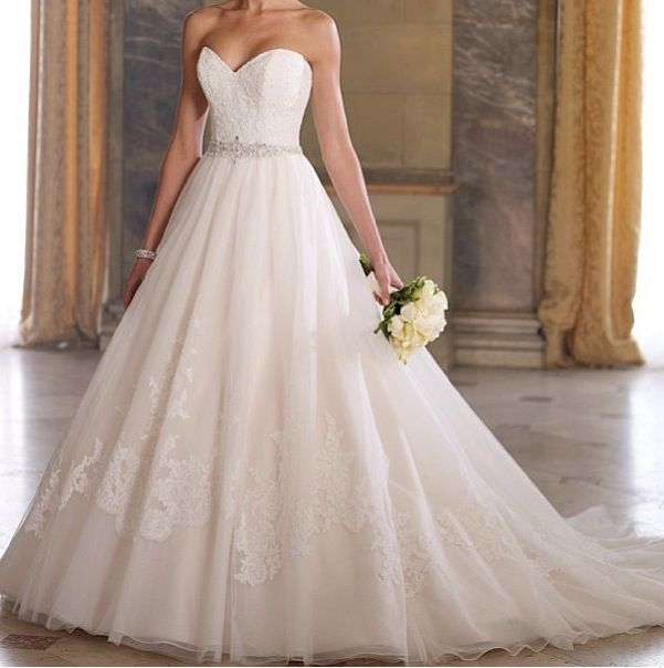 Ballroom wedding dress wedding day pinterest for Ballroom gown wedding dress