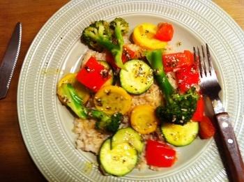 Summer Vegetable Stir-Fry | Clean Eating | Pinterest