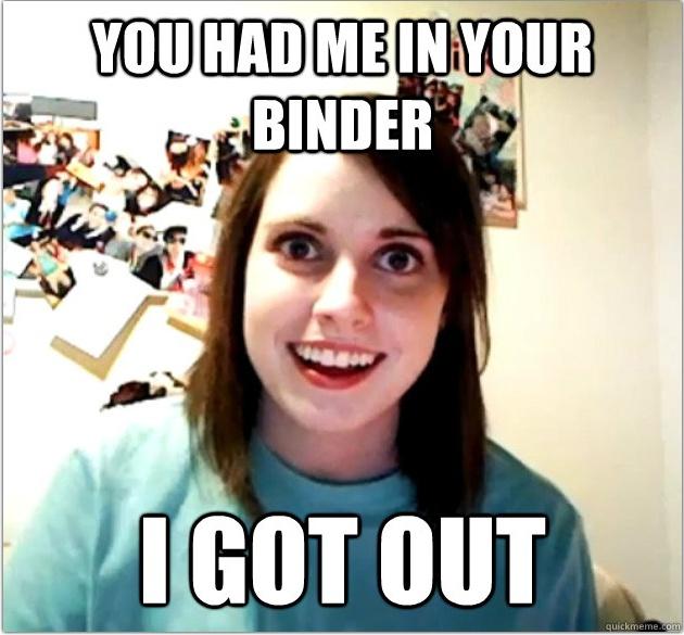 Binders Full Of Women #lol