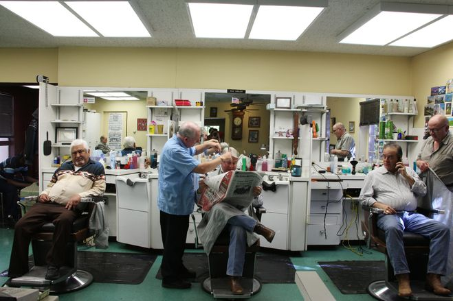 Barber Shop Highland Park : The Village Barber Shop has been at the mall since 1936 and sits next ...