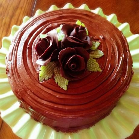 Hershey's Chocolate Cake With Frosting-I make this for my husband on ...