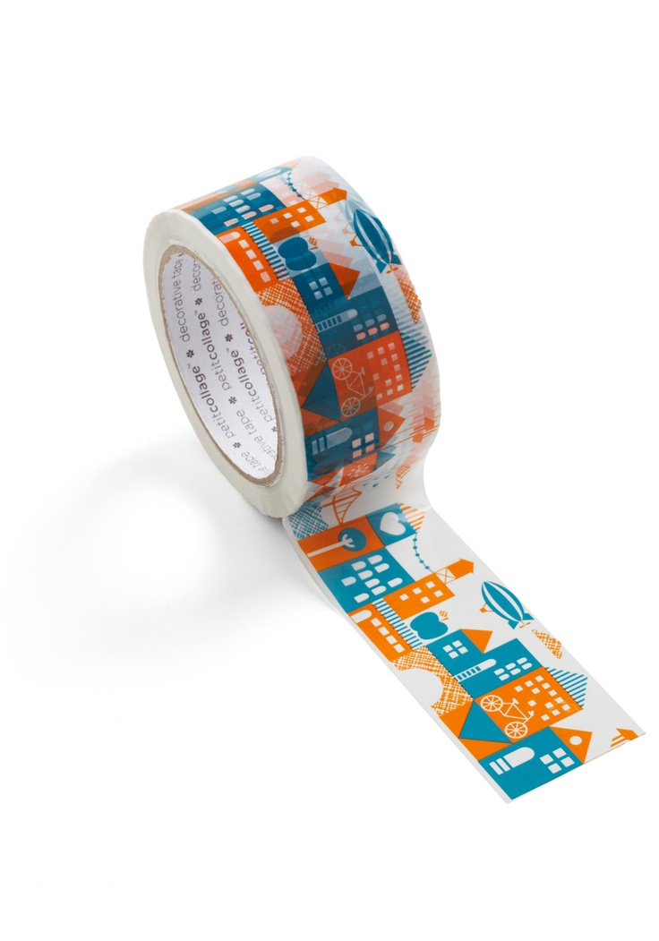 Stuck on this city decorative tape for Decoration tape